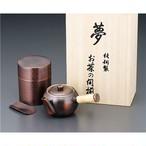 純銅茶筒・急須セット