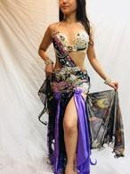エジプト製ベリーダンス 衣装 パーブル