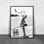 アートポスター/ブランド・北欧風・モダンアート/インテリア用/A4(210 x 297mm)/ポスターのみ/AP#004