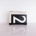 Clutch Bag / White  CLW-0008