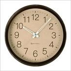 KATOMOKU muku round wall clock 2 km-45BRC 電波時計