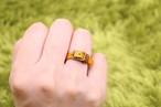 本革の小さなベルトリング|マンゴー