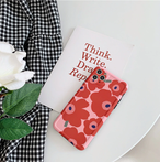 Luxury Poppy flower iPhone Case