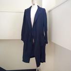 【hippiness】cupro coat(245navy) /【ヒッピネス】キュプラコート(245navy)