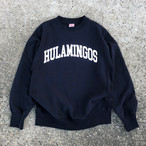 BLAND NEW HULAMINGOS COLLAGE LOGO SWEAT NAVY