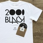 2000Black × Ends and Means × Jazzy Sport Tシャツ/ホワイト(Mix CD付き)