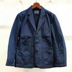 KUON(クオン) 琉球藍染 綿麻3つボタンジャケット