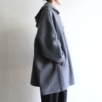 TENNE HANDCRAFTED MODERN【 womens 】wool knit cape with food