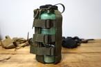 【送料込み】サイズ調整できるウォーターボトルポーチ(ミリタリー風)