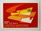エアメール / 国連 1969