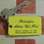 アメリカ Philadelphia Athletic Cub Hotel[フィラデルフィア アスレチック クラブ ホテル]ヴィンテージ ルームキーホルダー