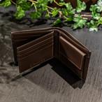 BS-9052 イタリアンレザー 二つ折り財布(中ベラ付)
