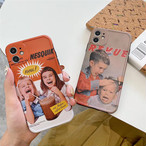 Cute boy girl iphone case