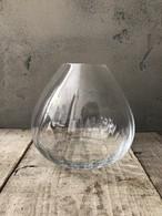 クリアガラス フラワーベース