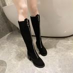 【shoes】新作切り替え一目惚れロング丈ブーツ24830974