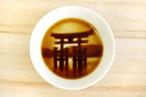 嚴島神社の醤油皿