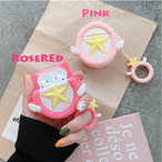 【オーダー商品】Pink star airpods case