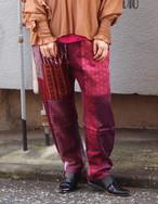 pajamas patch slim pants