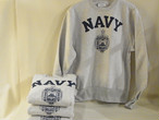 Midshipmen Store/Champion REVERSE WEAVE/USNA OFFICIAL PRINT