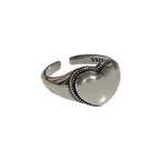 Silver 925 Heart Ring