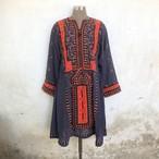 Vintage パキスタン バロチスタンドレス Gray