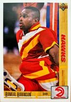 NBAカード 91-92UPPERDECK Rumeal Robinson #292 HAWKS