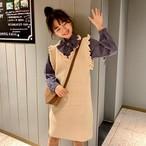 【set】[単品注文]ファッションキュートシャツ+ワンピースセットアップ22709176