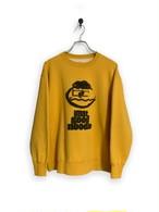 "Original Sweatshirt / ""koike san"" / yellow"