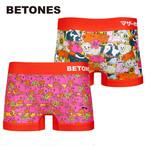 【BETONES】MOTHER FARM RED・マザーファーム レッド / ビトーンズ メンズ ボクサー パンツ