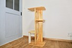★ 家具調キャットタワー・自立式  爪とぎ付き! ★
