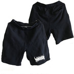 Death Marrion Logo Short Pants (ネイビー×白)