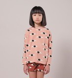 BOBO CHOSES ボボショセス Eyes All Over Long Sleeve T-Shirt size:2-3Y(95-100)~8-9Y(125-135)