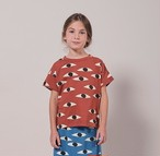 BOBO CHOSES ボボショセス Eyes All Over Short Sleeve T-Shirt size:2-3Y(95-100)~8-9Y(125-135)