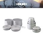 DUG(ダグ) 焚火缶 M/Lセット DG-0102 アウトドア サバイバル キャンプ大鍋 クッカー トライポッド対応