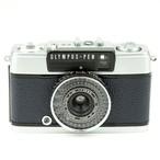 テスト用フィルム1本付き&現像代込み!F3.5 28mm PEN EE-3 OLYMPUS オリンパスペン EE-3  [ダークブルー] ハーフ コンパクト 中古フィルムカメラ