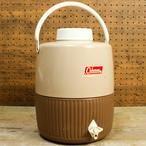 コールマン スノーライト ジャグ ブラウン&バターナッツ(チョコパフェカラー) 2ガロン 1969年3月製造 [AC01]