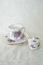 Hammersley Victorian Violets トリオセット&トリンケット セット販売