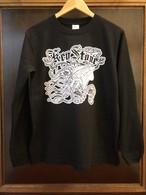 【TEAM KEYSTONE】 チームキーストンコラボ ロングスリーブTシャツ ブラック