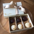 半生チョコレート&ホワイトチョコクッキー(当店オリジナル)【各3個 6個入り】