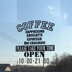ステッカー〈coffee shop〉new♪