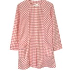 BYBO Pink Plaid Long Shirt made in France