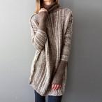 【トップス】レトロ長袖配色セーター・カットソー24313581