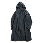 Postalco/Four Vent Long Rain Jacket/Dark Blue