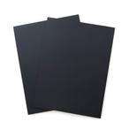 Black Paper pad 50枚/カリグラフィー用ペーパーパッド ブラック