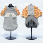 `天使の羽 ふりふりTシャツ オレンジ