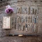 ヤマアラシのペン軸とペン先セット