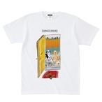 ターゲットシューズ ドッグTシャツ ホワイト