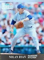 MLBカード 91FLEER Nolan Ryan #355 RANGERS