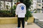 Gerbera L/S Shirts【White / Black】