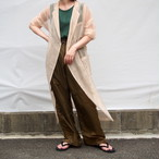 【RehersalL】mesh coat (yellow)/【リハーズオール】メッシュコート(イエロー)